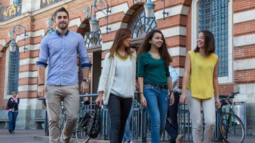 Toulouse désignée meilleure ville étudiante de France selon le...