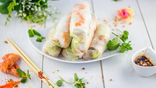 Rouleaux de printemps aux crevettes faciles