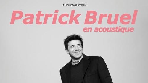 OCEANE vous offre vos places pour les concerts de Patrick Bruel !