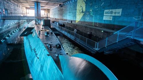 Carte postale : Le sous-marin l'Espadon