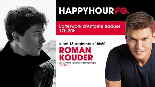 Roman Kouder, invité de l'Happy Hour FG ce lundi soir