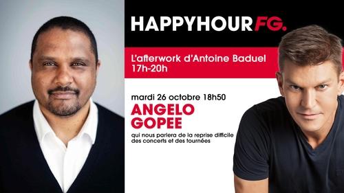 Angelo Gopee, directeur de Live Nation France, invité ce soir dans...