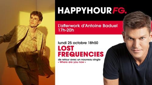 Lost Frequencies invité ce soir dans l'Happy Hour !