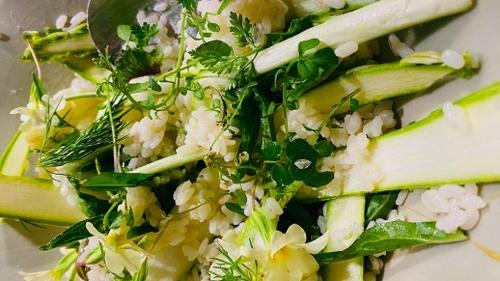 Le riz aux asperges de Bruno Verjus