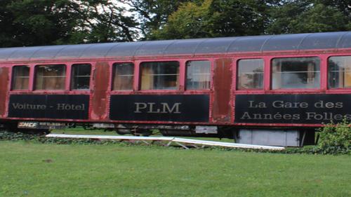 Guiscriff: une voiture PLM au Musée de la Gare