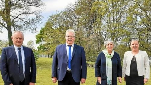 Elections départementales sur le canton de Gourin: Dominique Guégan...
