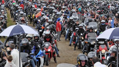 Porcaro: la Madone des motards sur une seule journée cette année