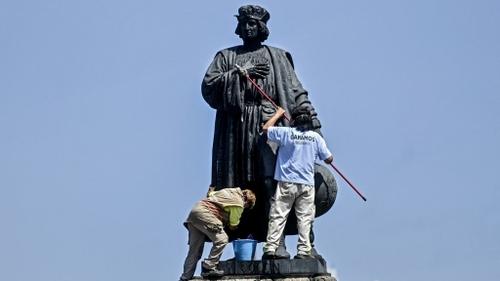 Mexique : Christophe Colomb expulsé d'une artère de Mexico