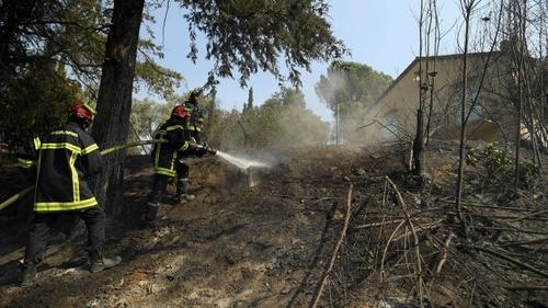 Les pompiers des Deux-Sèvres mobilisés dans la lutte contre...