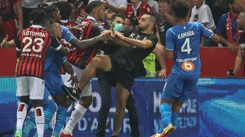 Football : enquête ouverte après les incidents du match Nice-Marseille