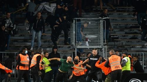 Ligue 1 : débordements entre supporters lors de la rencontre Angers-OM