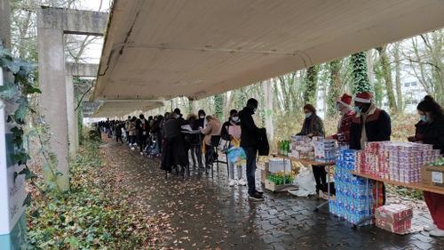 Orléans : nouvelle distribution alimentaire pour les étudiants le...