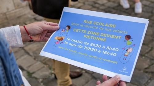 Bourges : une première rue scolaire mise en place pour la rentrée