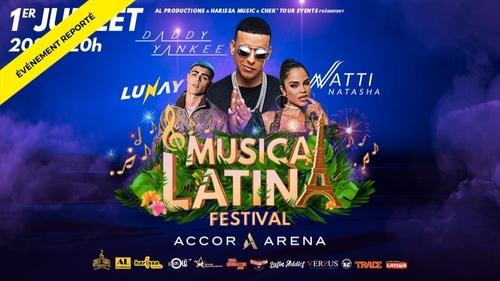 Concert : Daddy Yankee, Natti Natasha & Lunay à l'Accor Arena (Paris)