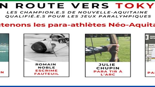 Nouvelle-Aquitaine : 18 athlètes à suivre aux Jeux Paralympiques