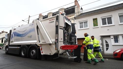 Le Mans : un camion-poubelle à hydrogène expérimenté
