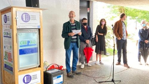 Bordeaux : un frigo solidaire inauguré à l'université de Bordeaux...