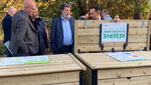 Bordeaux Métropole : un premier écopoint inauguré à Bègles