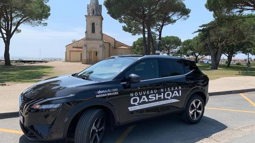 Road trip WIT FM : 3ème étape avec le nouveau Nissan Qashqai