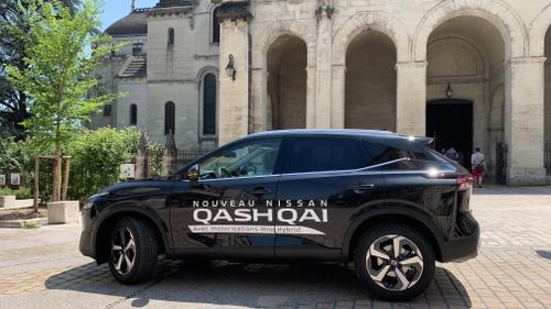 Road trip WIT FM : 2ème étape avec le nouveau Nissan Qashqai