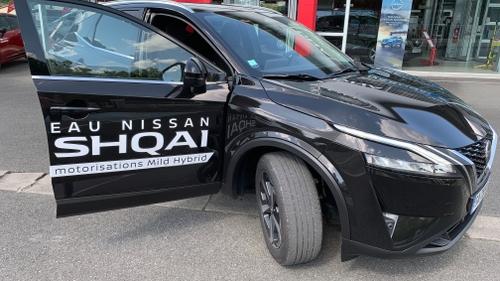 Road trip WIT FM : 1ère étape avec le nouveau Nissan Qashqai