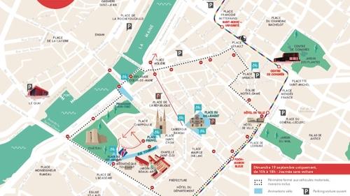Une journée sans voiture à Angers pour promouvoir le vélo