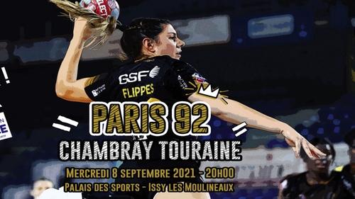 Handball : gagnez vos places pour le match Paris 92 - Chambray