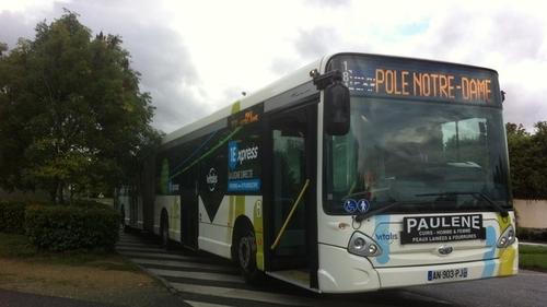 Poitiers : le réseau de bus Vitalis recrute des chauffeurs