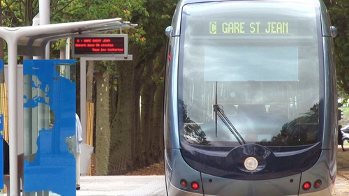 Tram Bordeaux : la ligne C  interrompue