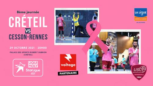 US Créteil Handball : gagnez vos places pour le prochain match à...