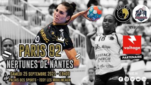 Handball : gagnez vos places pour le match Paris 92 - Nantes