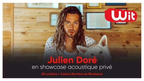 Julien Doré : gagnez vos places pour son showcase privé acoustique...