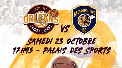 Orléans Loiret Basket : gagnez vos places pour le prochain match à...