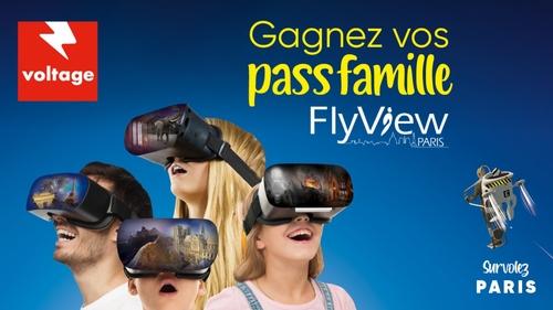 Gagnez vos pass famille pour découvrir FlyView Paris