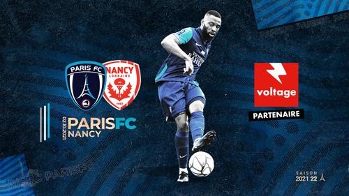 Football : gagnez vos places pour le match Paris FC - AS Nancy...