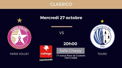 Paris Volley : gagnez vos places pour le prochain match à domicile