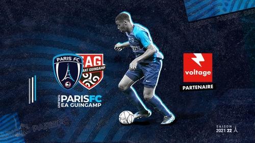 Football : gagnez vos places pour le match Paris FC - EA Guingamp