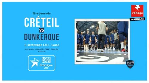 Handball : gagnez vos places pour le match US Créteil - Dunkerque