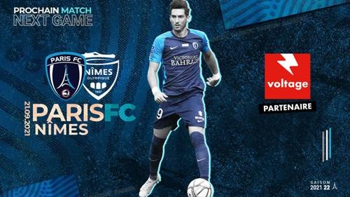 Football : gagnez vos places pour le match Paris FC - Nîmes Olympique