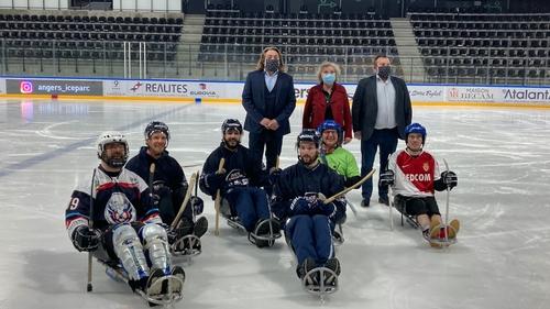 Bientôt une section para-hockey chez les Ducs d'Angers