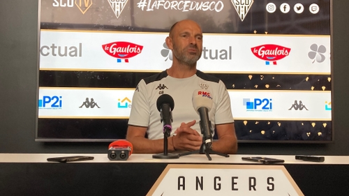 """Gérald Baticle, coach d'Angers Sco: """"Ne pas s'emballer"""""""