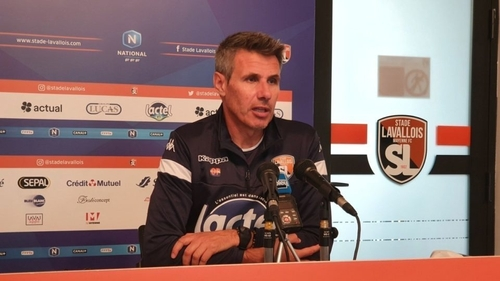 Stade lavallois. L'entraineur Olivier Frapolli suspendu pour trois...