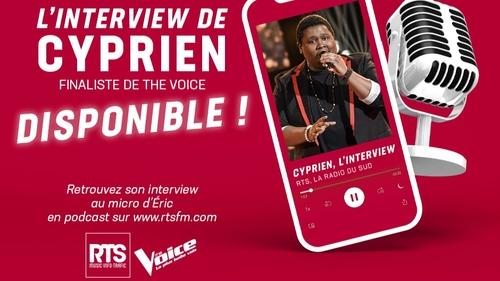 Cyprien, un talent du sud en finale de The Voice !