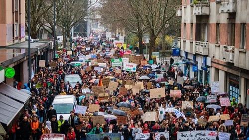 Grève du 5 octobre :des cortèges dans les principales villes du sud
