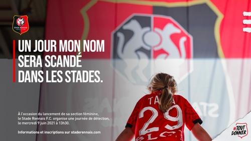 Football : le Stade Rennais lance sa section féminine