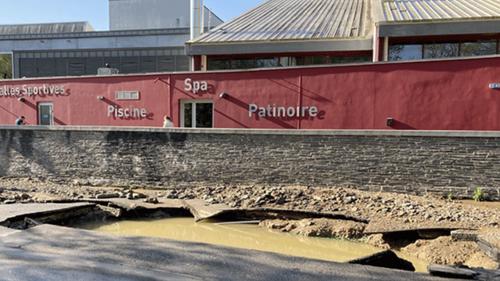 Rupture d'une canalisation à Nantes : des techniciens attendus sur...