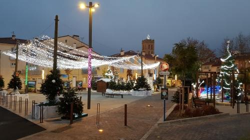 Argelès-sur-Mer : Le marché de Noël en préparation