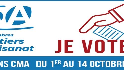 Vendredi 1 Octobre : Début de l'élection de la chambre des métiers...