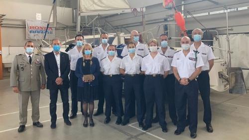Canet-en-Roussillon:la Marine nationale signe un accord avec le...
