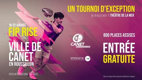 Canet-en-Roussillon : 1er édition de l'open international de Padel